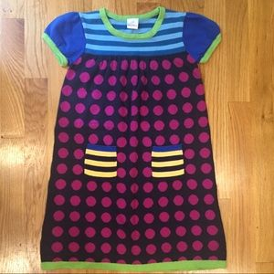 Hanna Andersson Sweater Dress size 120